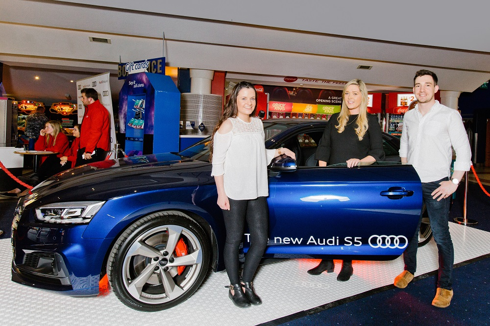 The New Audi S Makes Its Cinema Debut Wide Eye Media - Audi ireland
